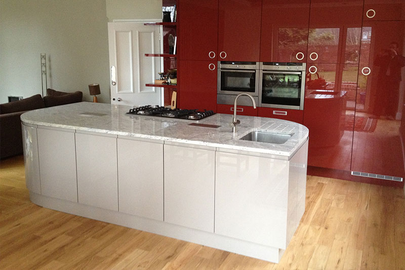 Acrylic kitchen fitting in Bromsgrove
